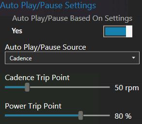 Auto Play/Pause